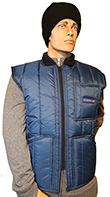 Cooler Wear WarmUp Vest Style 1102 MADE IN USA