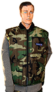 Cooler Wear WarmUp Camo Vest style 1102C MADE IN USA