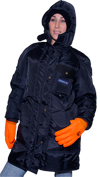 Freezer Wear ExtremeGard Parka for Ladies MADE IN USA