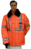 High Visibility Econo Jacket MADE IN USA