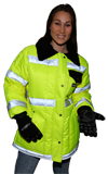 High Visibility Tundra Jacket for Ladies MADE IN USA