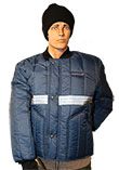 Cooler Wear Driver Jacket with 3M Reflective Tape MADE IN USA