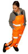 ExtremeGard&reg High Visibility Trousers for Ladies