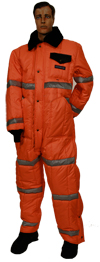 High Visibility Coveralls MADE IN USA