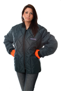Cooler Wear Diamond Quilted Jacket for Ladies Style 9900W MADE IN USA