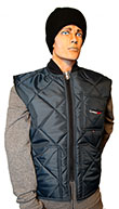 Cooler Wear Diamond Quilted Vest Style 9902 MADE IN USA