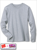 Hanes 5.2 oz Women's COMFORTSOFT Long-Sleeve T-Shirt
